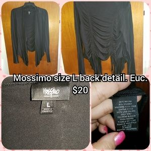 Mossimo size L back detail cardigan